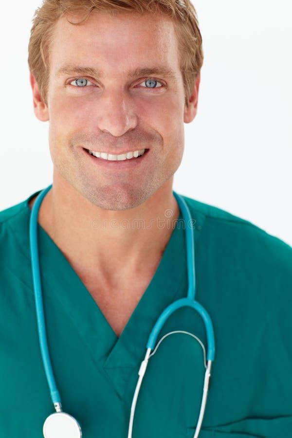 Portrait des medizinischen Fachmannes stockfotos