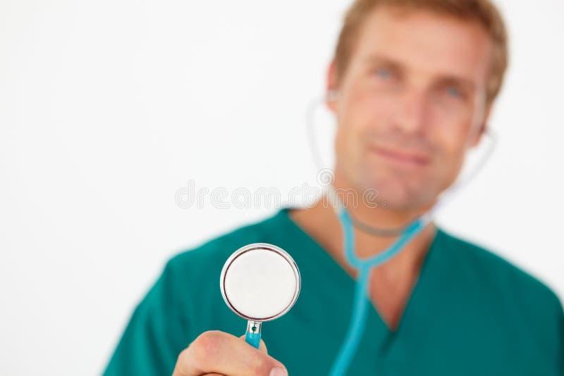 Portrait des medizinischen Fachmannes stockbilder