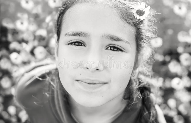 Portrait des recht jugendlich Mädchens lizenzfreies stockbild