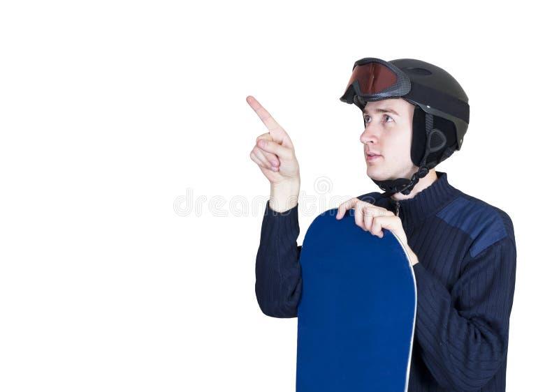 Portrait des stattlichen Mannes in der Sportkleidung lizenzfreies stockbild
