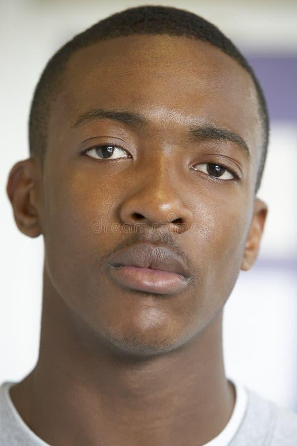 Portrait des Teenagers stockfoto