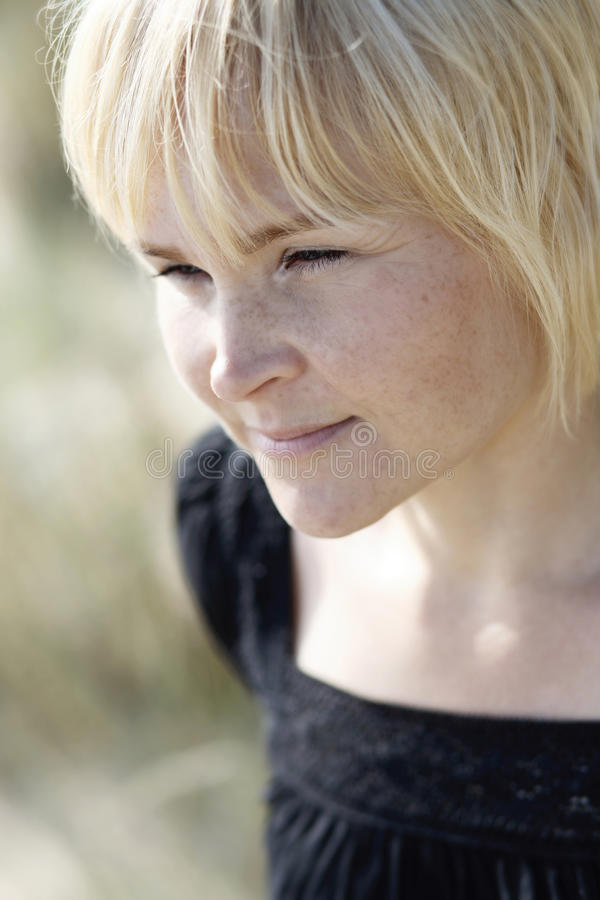 Download Portrait Of Determined Woman. Stock Photo - Image: 10462070