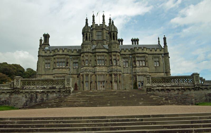 Portrait du château gothique photos stock