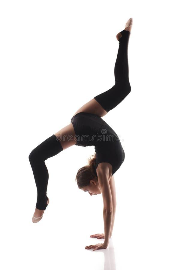 Portrait de danseur classique photo stock