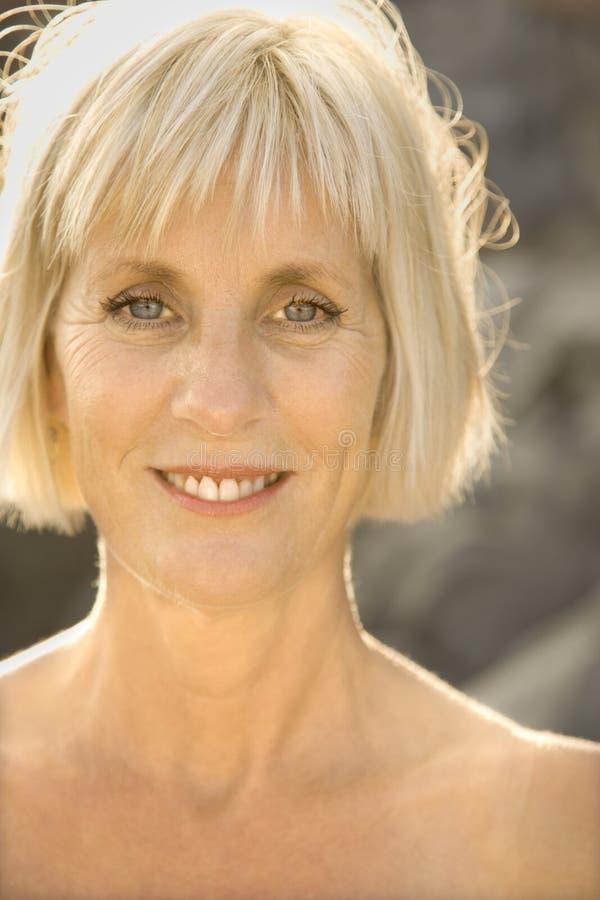 Portrait einer Frau. lizenzfreies stockbild