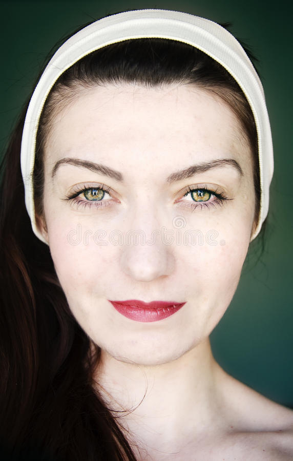 Portrait einer Frau stockbilder