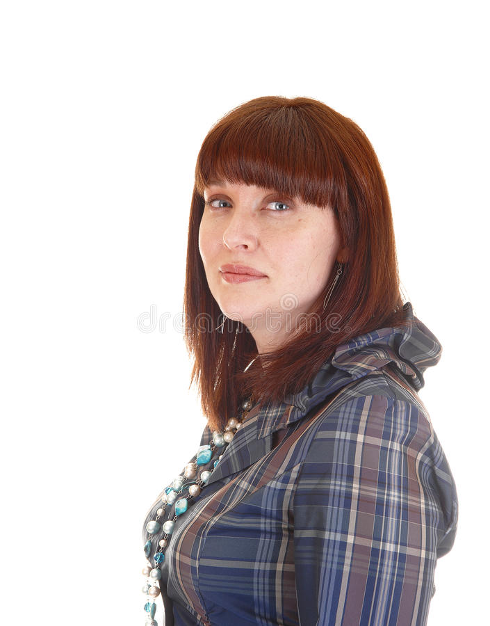 Portrait einer Frau. lizenzfreies stockfoto