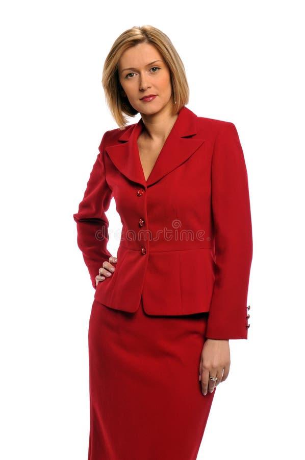 Portrait einer Geschäftsfrau stockfotos