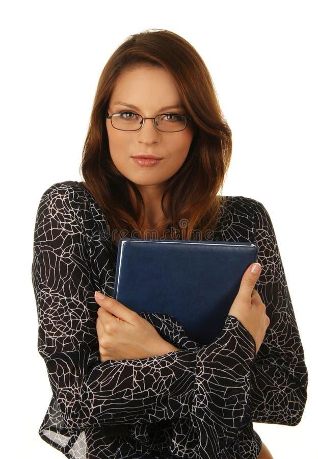 Portrait einer jungen attraktiven Geschäftsfrau. lizenzfreie stockfotografie