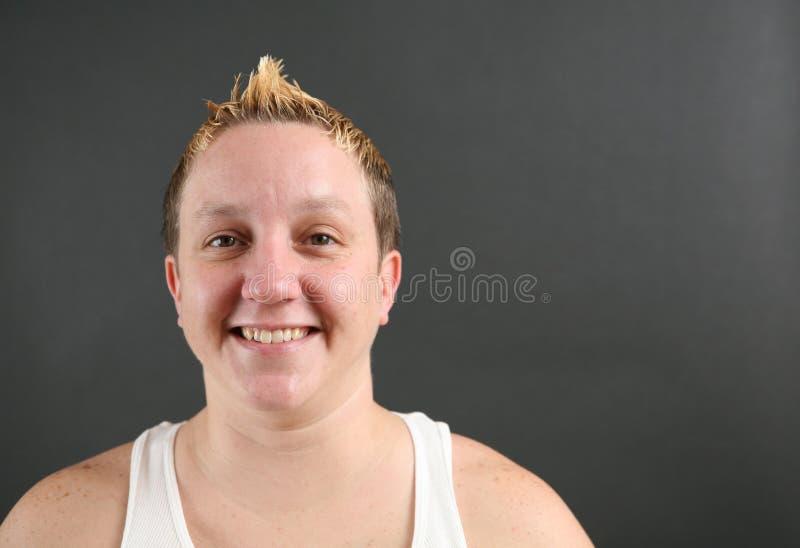 Portrait einer jungen Frau lizenzfreie stockfotografie