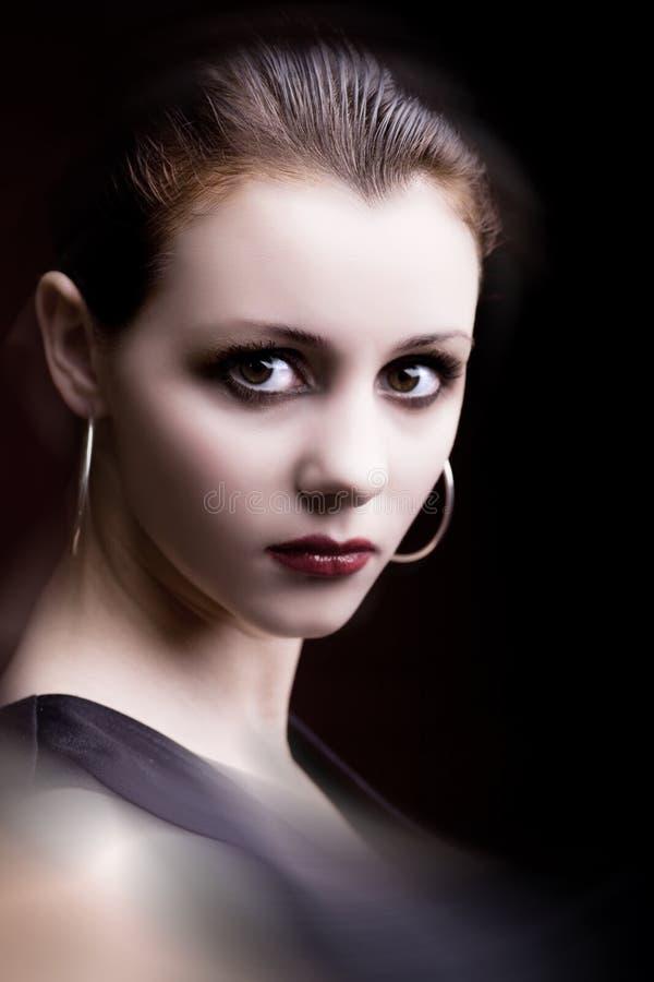 Portrait einer jungen Frau 6 stockbilder