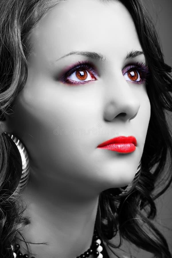 Portrait einer jungen Frau 7 lizenzfreie stockbilder