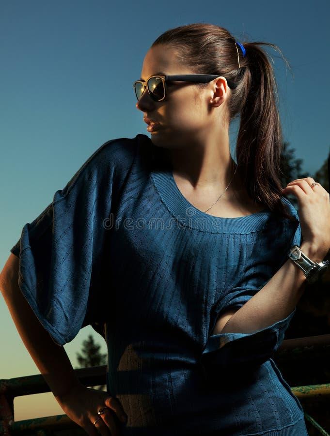Portrait einer schönen Frau stockbilder