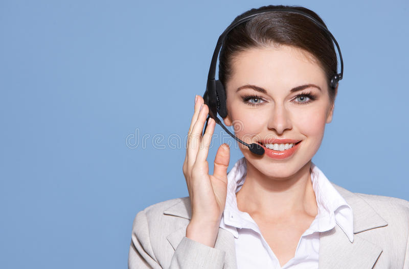 Portrait einer schönen Geschäftsfrau lizenzfreies stockfoto