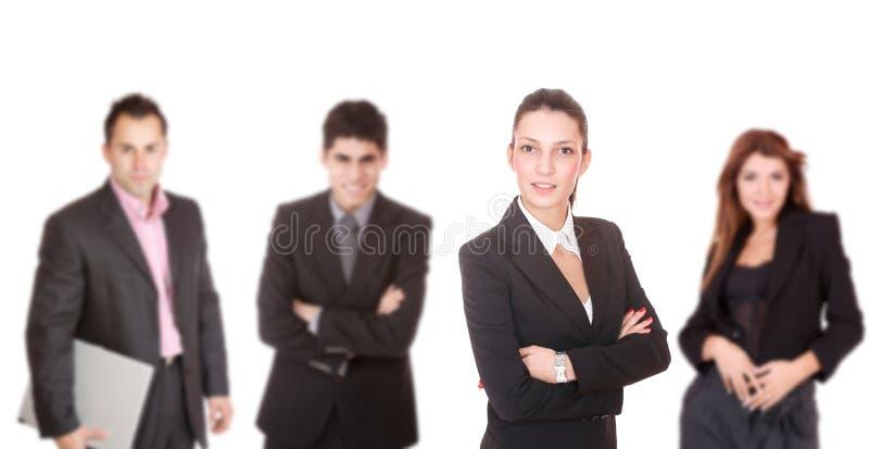 Portrait eines erfolgreichen Geschäftsteams lizenzfreies stockfoto