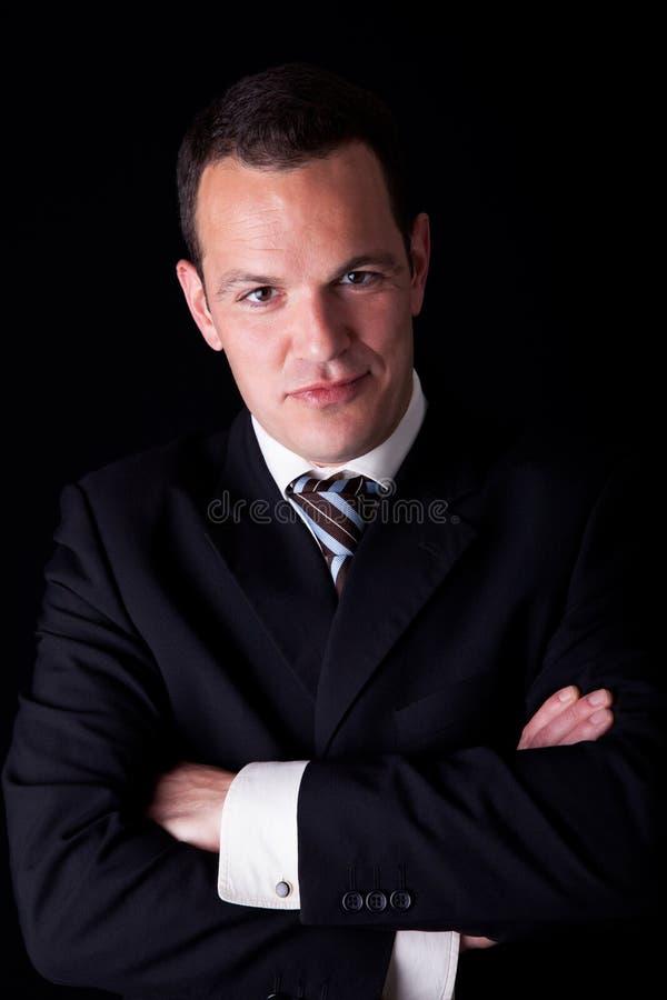 Portrait eines Geschäftsmannes stockfoto