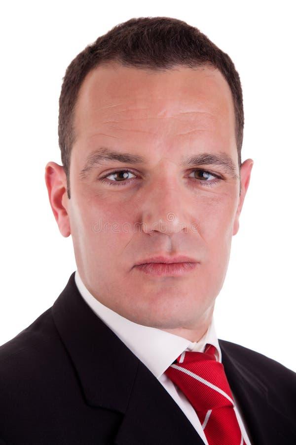 Portrait eines Geschäftsmannes stockbild