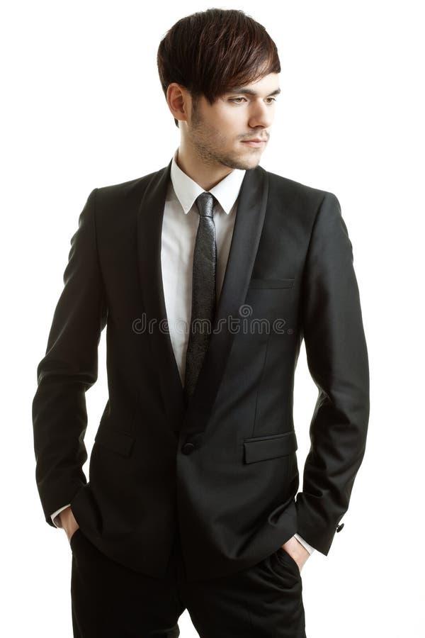 Portrait eines Geschäftsmannes lizenzfreies stockbild