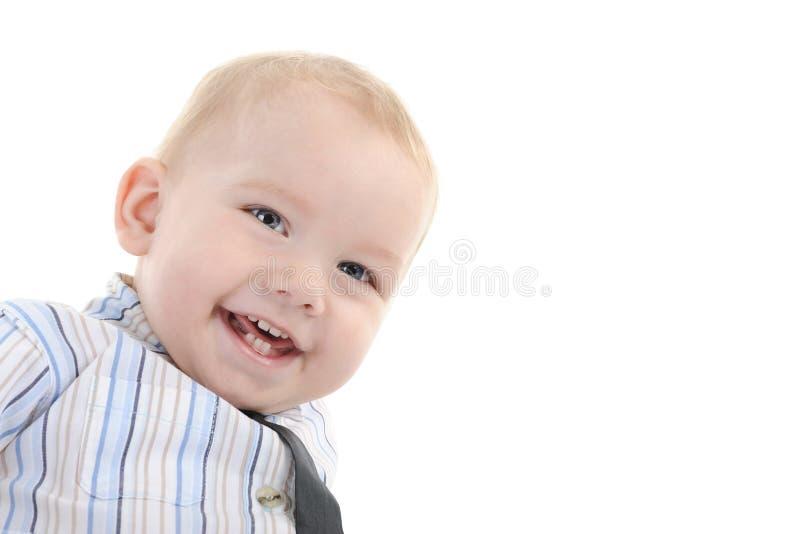 Portrait eines glücklichen Kindes stockbild