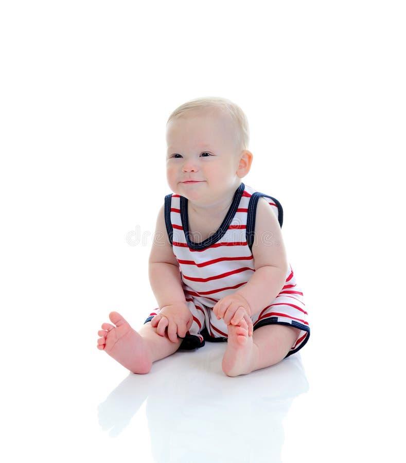 Portrait eines glücklichen Kindes stockbilder
