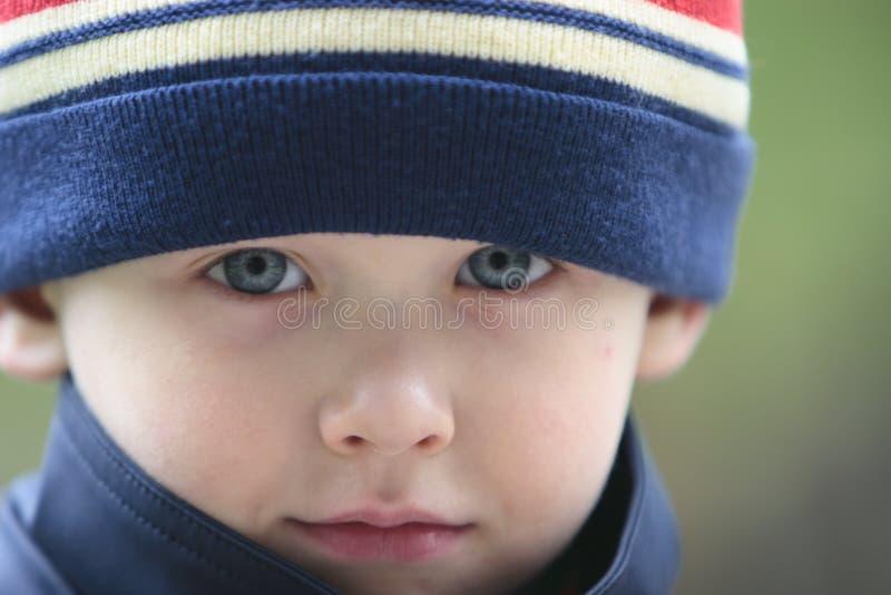 Portrait eines Jungen stockbild