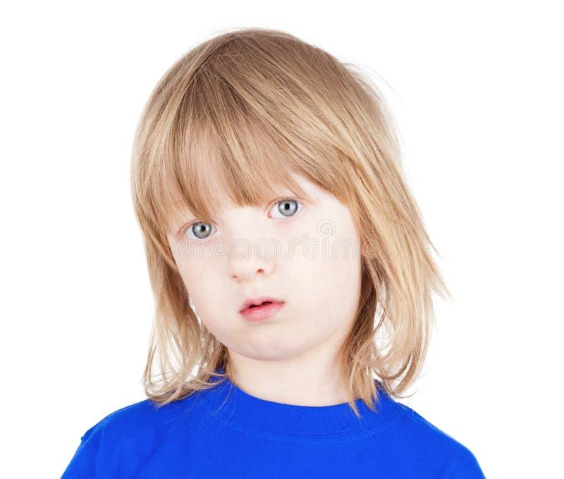 Portrait eines Jungen lizenzfreie stockfotos