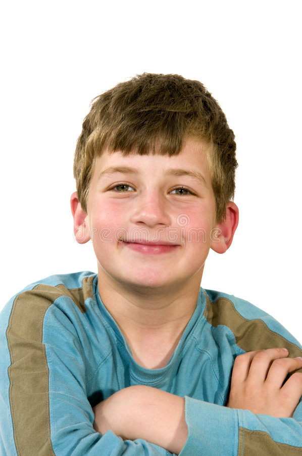 Portrait eines Jungen lizenzfreie stockbilder