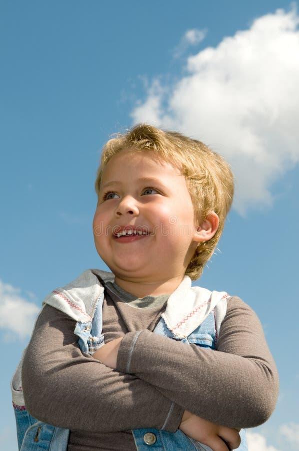 Portrait eines Jungen lizenzfreie stockfotografie