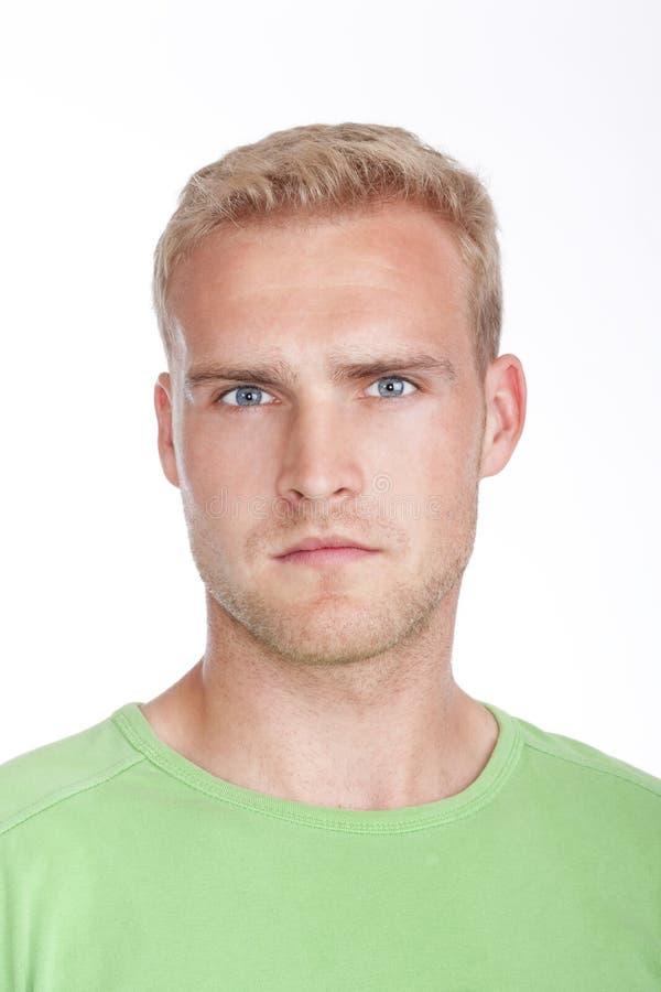 Portrait eines jungen Mannes stockfoto