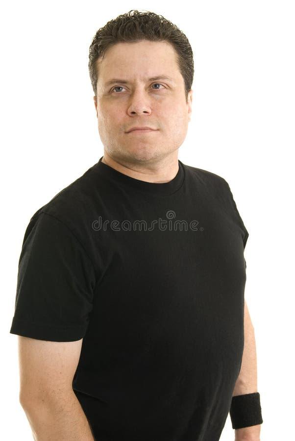 Portrait eines kaukasischen Mannes stockfotos