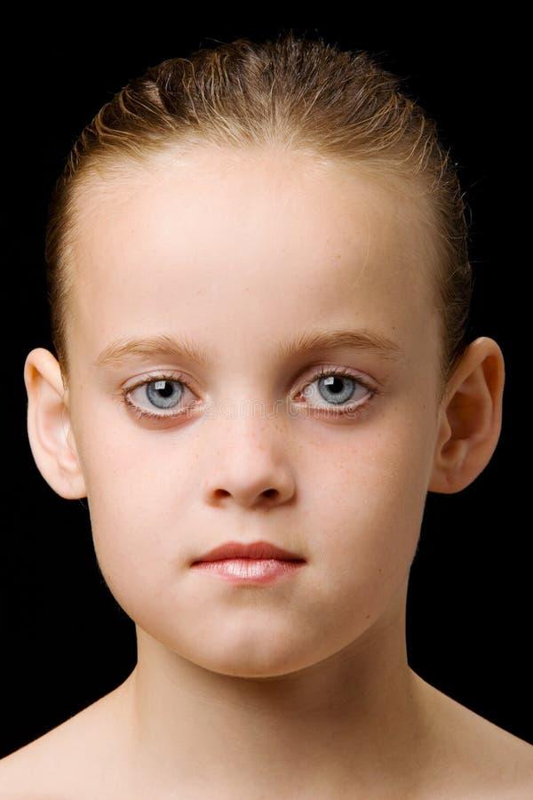 Portrait eines Kindes stockfoto