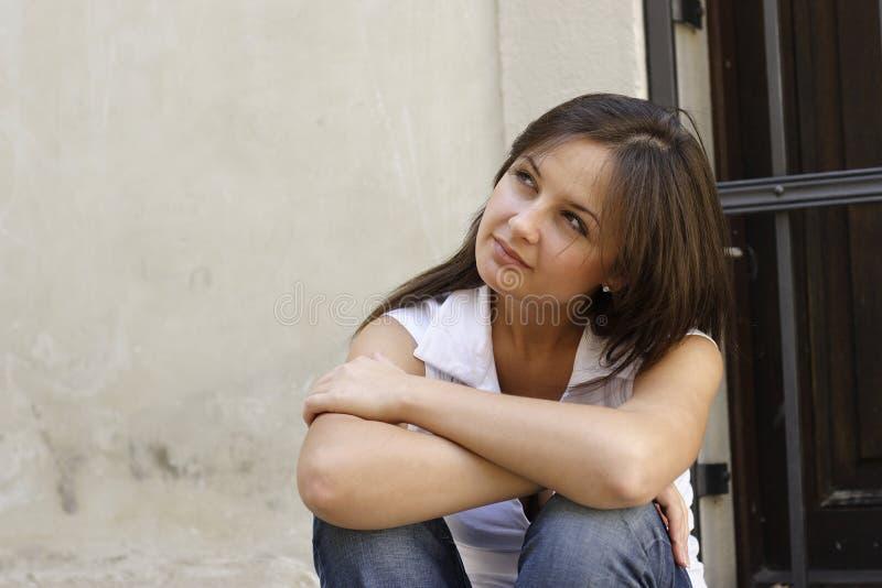 Portrait eines Mädchens lizenzfreie stockfotografie