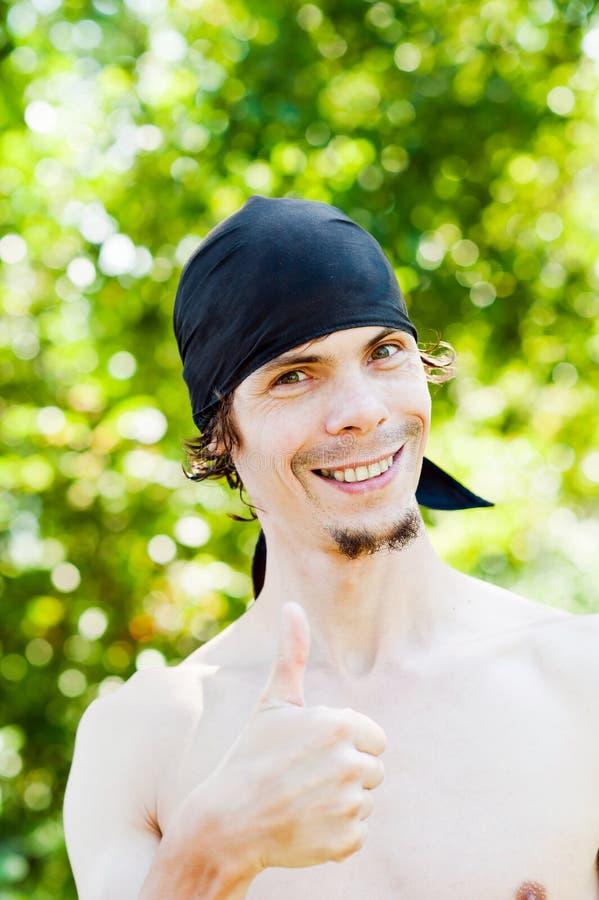 Portrait eines Mannes stockbild