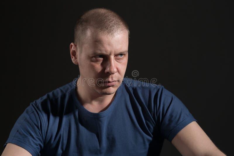 Portrait eines Mannes lizenzfreie stockfotografie