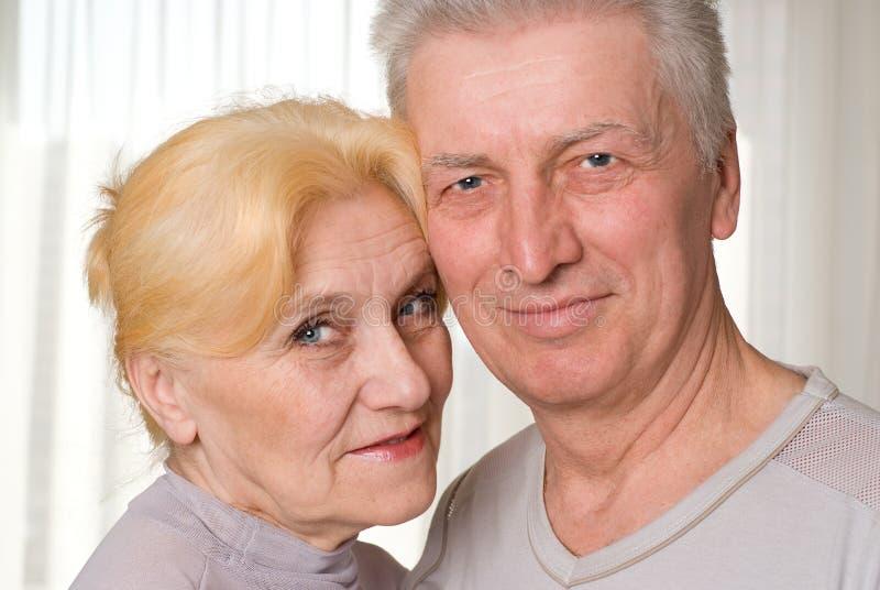 Portrait eines Paares stockfotos