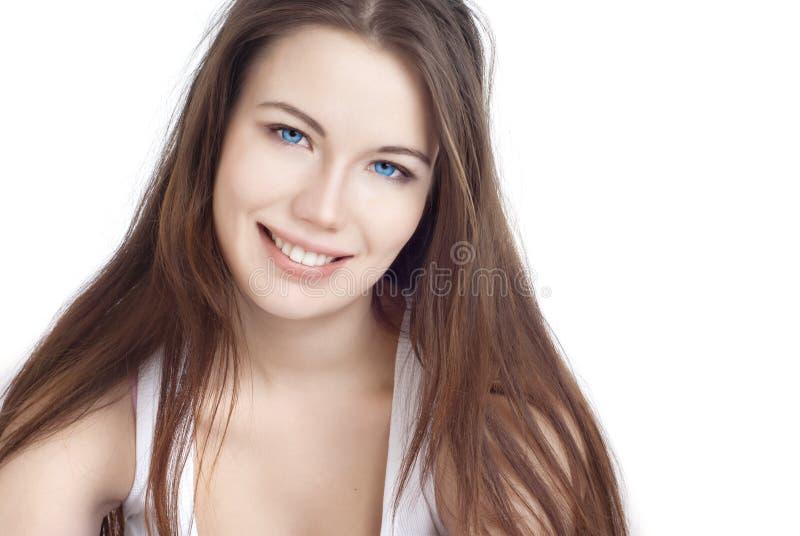 Portrait eines schönen Mädchens stockfotografie