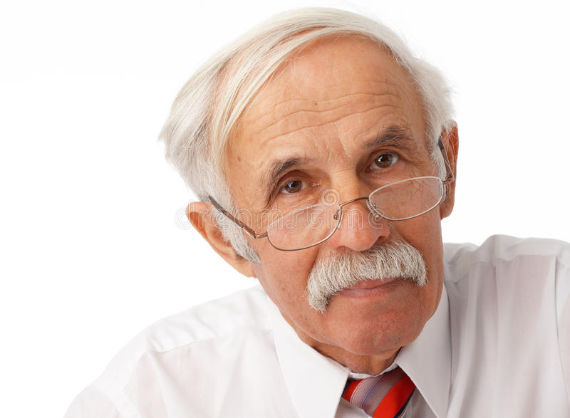 Download Portrait of an elder man stock photo. Image of business - 14856162