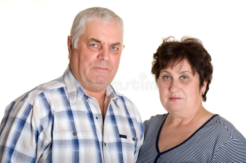 Download Portrait Of An Elderly Couple. Stock Images - Image: 17369774