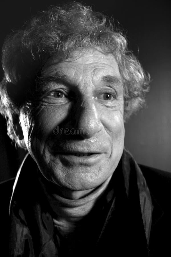 Portrait of an elderly man royalty free stock image