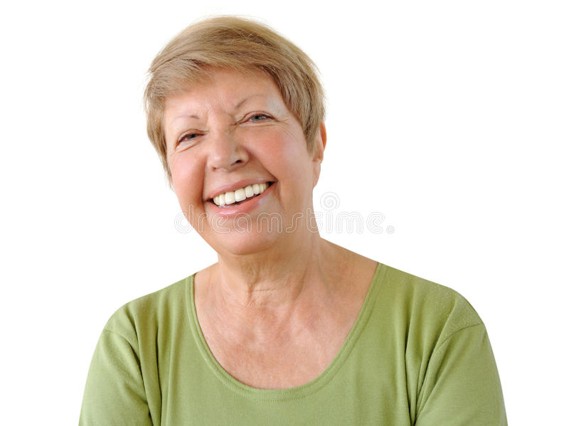 Download Portrait of elderly woman stock image. Image of happy - 26652589