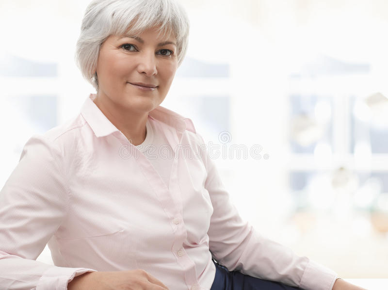 Download Smiling Senior Woman Stock Photography - Image: 30064312