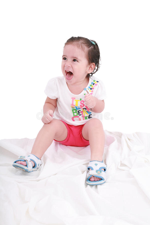 Download Portrait Of Emotionally Kid Stock Photo - Image: 21767282