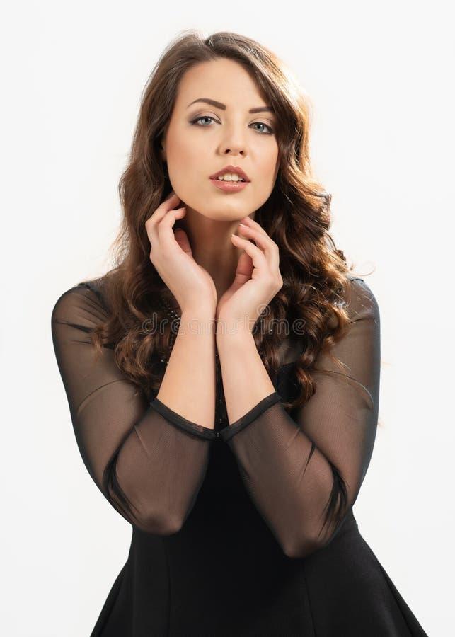 Portrait Of European Woman stock image