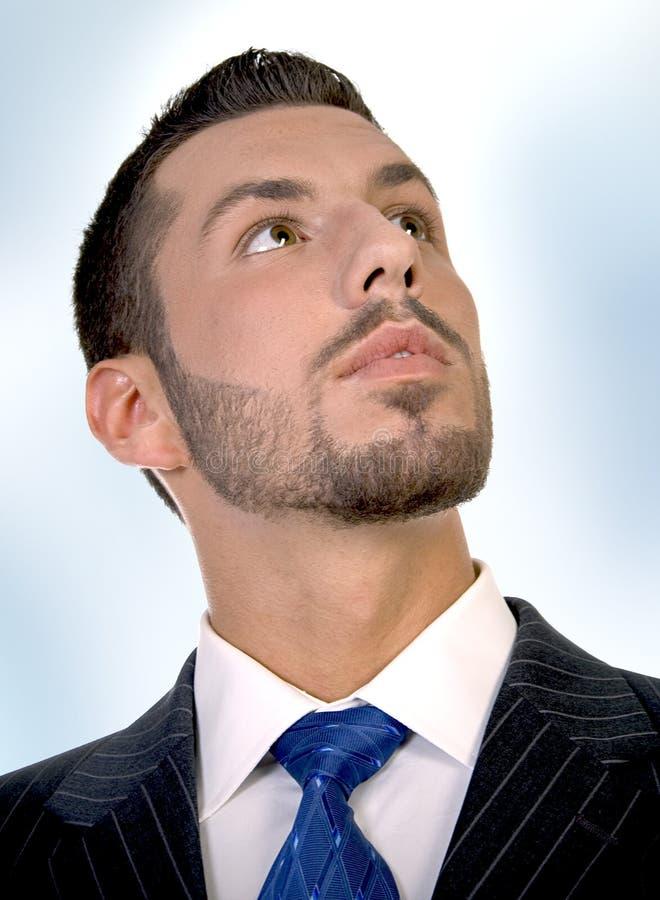 Portrait of executive stock photo