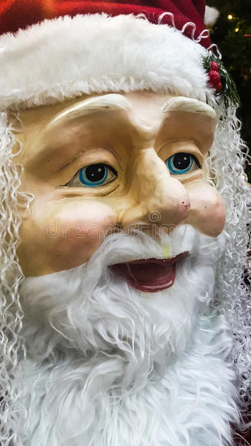 Portrait face of santa Claus royalty free stock image