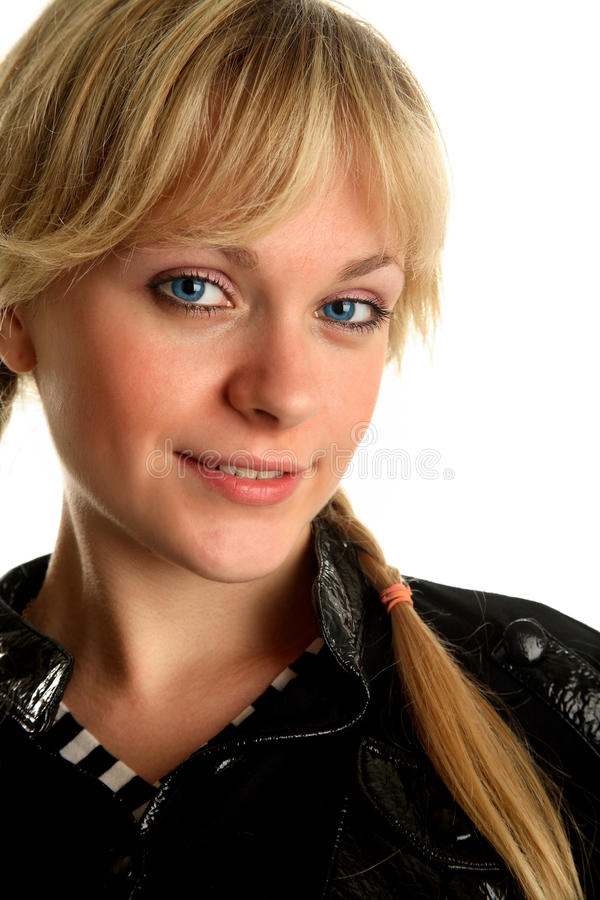 Portrait face of young beautiful women royalty free stock images