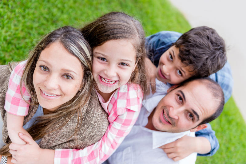 Download Portrait of a family stock photo. Image of child, bond - 31418498