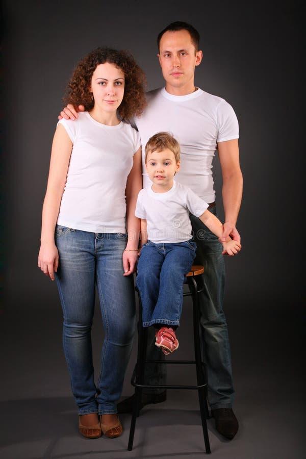 Download Portrait Of Family In Studio Stock Photo - Image: 4659708