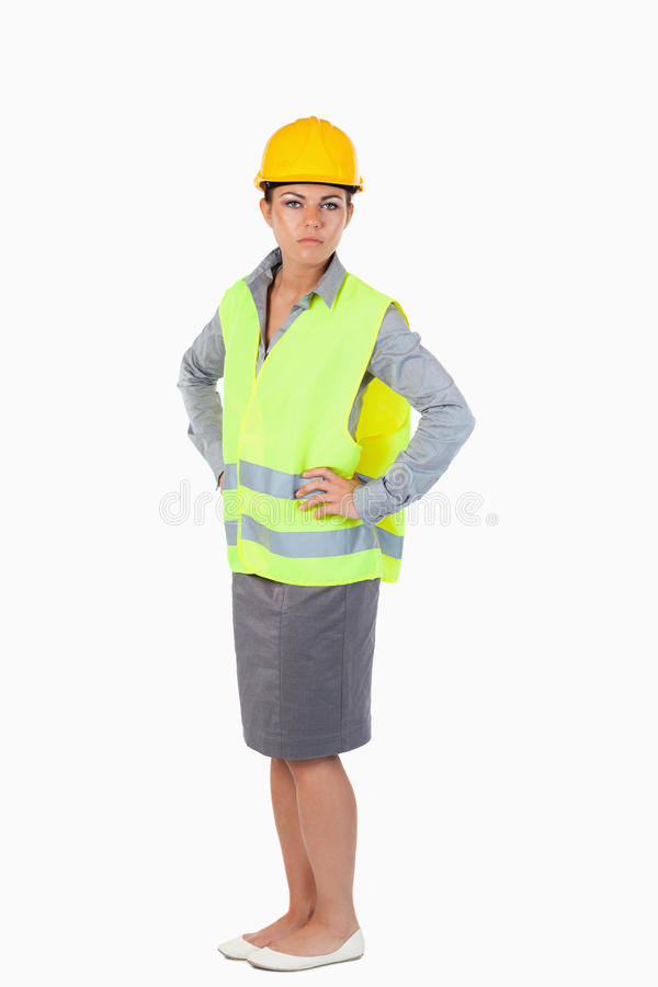 Download Portrait Of A Female Architect Stock Photo - Image: 21972366