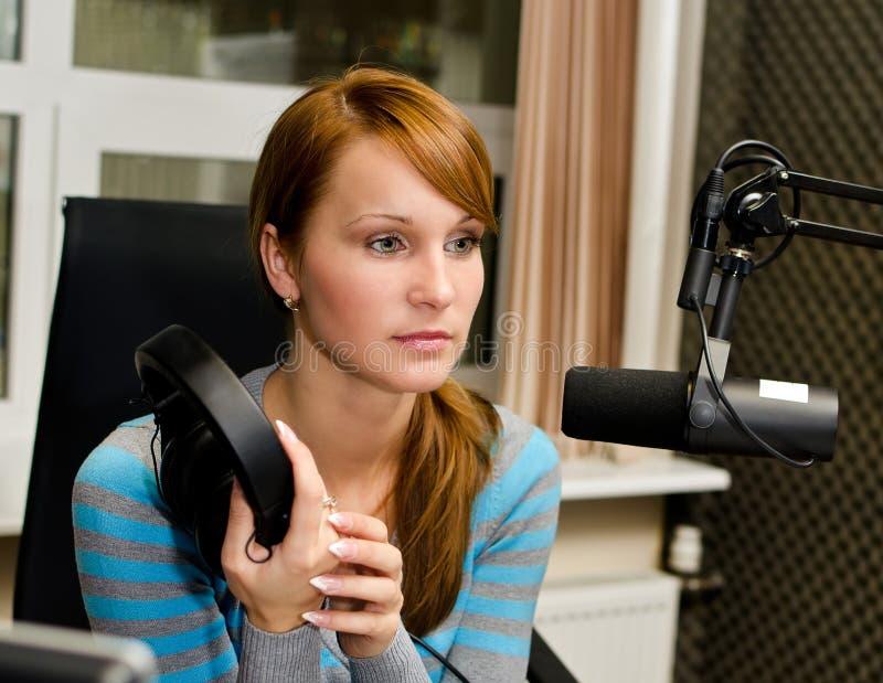 Download Portrait of female dj stock photo. Image of entertainment - 27021584